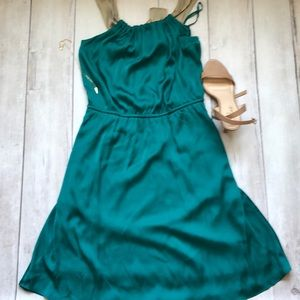 The Limited teal dress